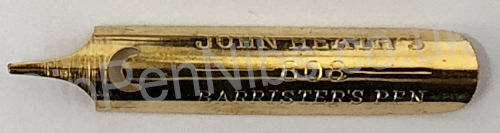 Barrister's Pen by John Heath No. 808